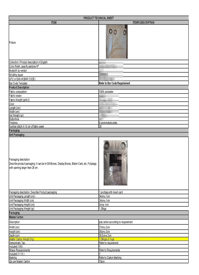 Your Product Sourcing Dept. in China | The7 Sourcing a.Product-details Detail Guideline How to Process Your Sample Orders