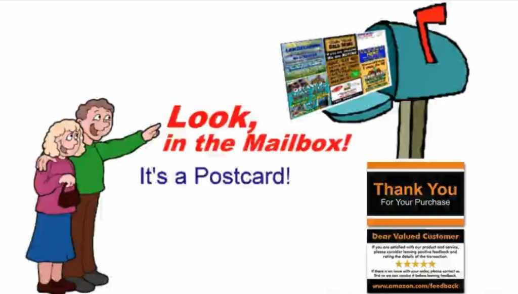Your Product Sourcing Dept. in China | The7 Sourcing postcard-1024x581 Amazon Seller: Hard to Get Amazon Review? Try Send Postcard!