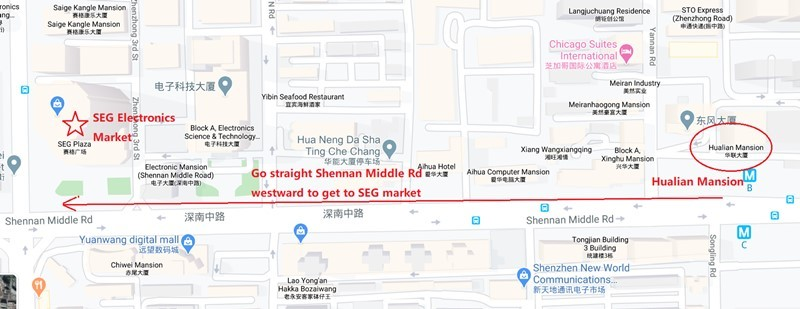 Your Product Sourcing Dept. in China | The7 Sourcing Hualian-Mansion-to-SEG-Plaza Sourcing in Shenzhen SEG Electronics Market - Ultimate Guide