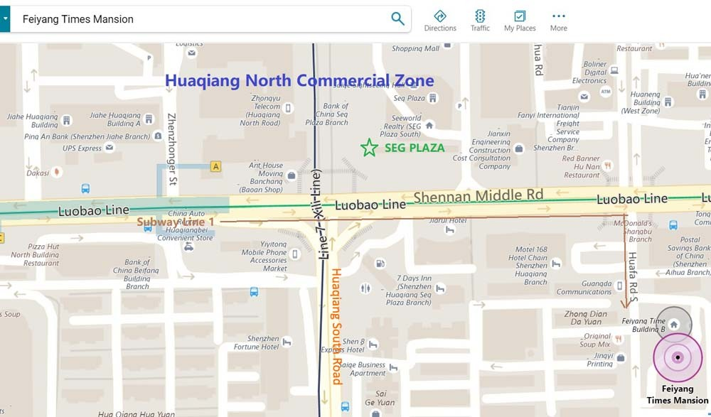 Your Product Sourcing Dept. in China | The7 Sourcing feiyang-market-in-Bing-maps Shenzhen Huaqiangbei Used Mobile Phone Market Insight - Ultimate Guide
