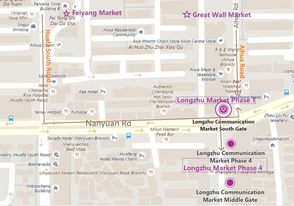 Your Product Sourcing Dept. in China | The7 Sourcing long-zhu-market-bing-maps Shenzhen Huaqiangbei Used Mobile Phone Market Insight - Ultimate Guide